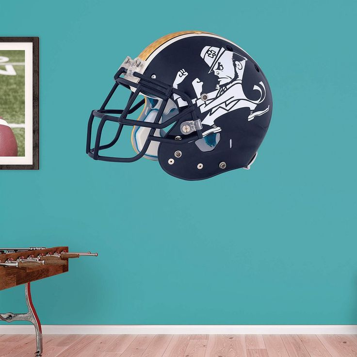 Notre Dame Fighting Irish Leprechaun Helmet Wall Decal by Fathead, Multicolor