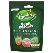 Rowntrees Pouch Fruit Pastilles Infusions 140G