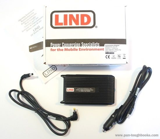 Lind CF-LND80S-FD DC Panasonic Toughbook 12-16 Vdc Car Charger / Adaptor / PSU - New £80+VAT
