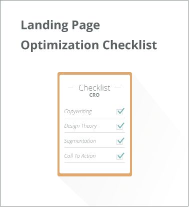 Landing Page Optimization Checklist  If you are a marketer or business owner and need to improve your landing pages performance then this is the checklist for you.  You won't find any opinions here or fake one size fits all hacks, just case studies, best practice and a badass Landing Page Optimization Checklist you can start using today.