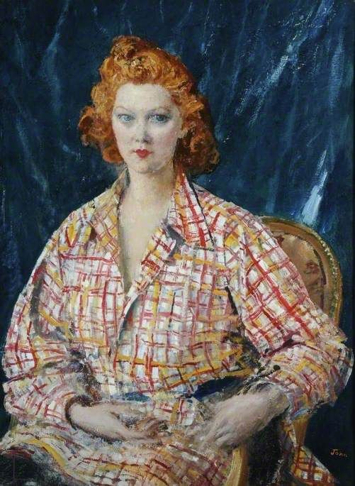 Canadian Girl , before 1948 by Augustus John (British 1878–1961)