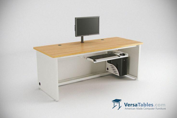Enclosed Versa Desk CD Series By Versa Tables