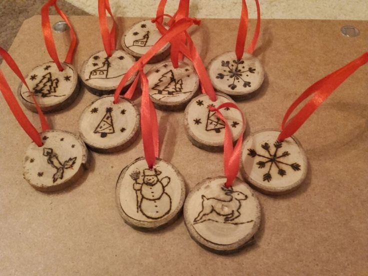 DIY christmas ornaments made by me ❤