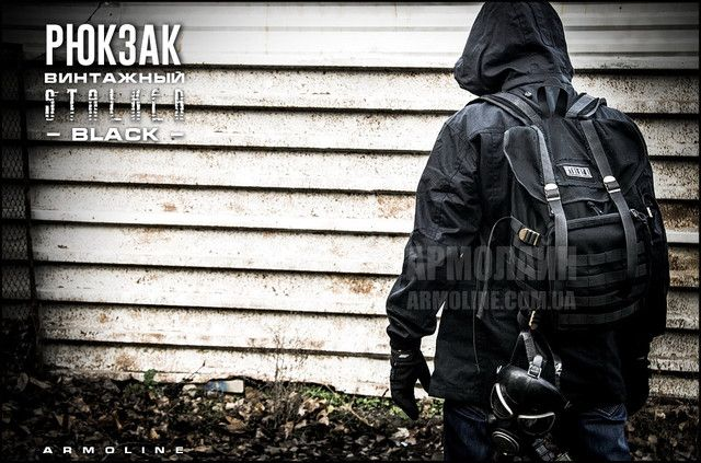16a07d448a9b Рюкзак городской, винтажный, 20л, чёрный #hunting #military #clothes #guns