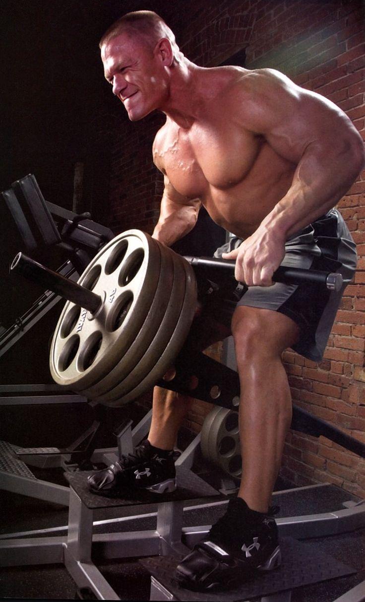 Джон Сина - крутой спортсмен, актер и филантроп. Лучший рэстлер WWE!