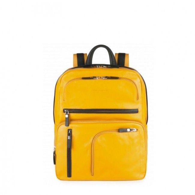 Zaino Piquadro in pelle porta pc Spock CA3657S80 - Scalia Group #zaini #backpacks #business #moda #fashion #glamour #piquadro