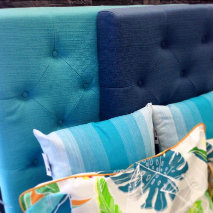 Sweet dreams Our single bedheads in teal and navy, only available at @dcb_designs #tgif #bed #bedhead #bedheads #singlebedhead #bedding #dcbdesigns #home #homewares #interiors #furniture