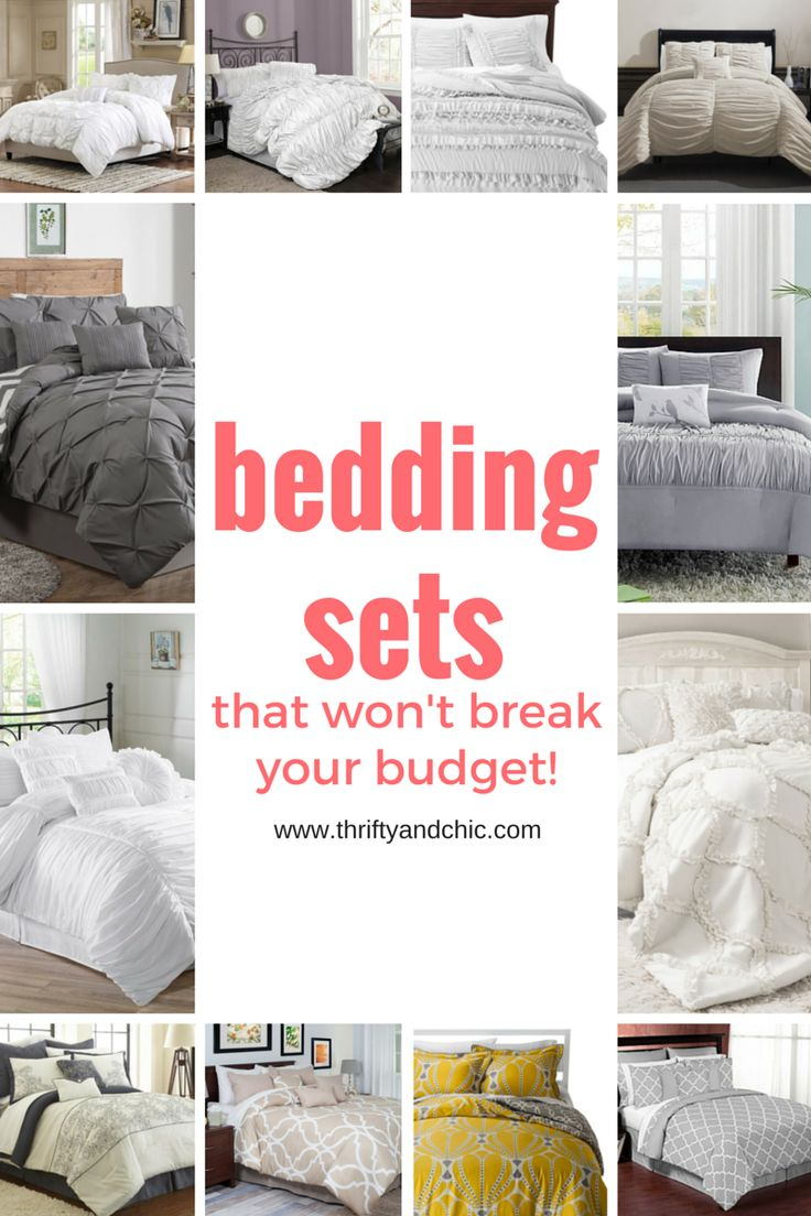 Great site for cute bedding sets that won't break your budget