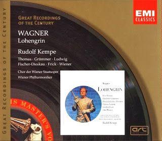 Wagner : Lohengrin (Thomas - Grümmer - Fischer-Dieskau - Ludwig - Frick) Kempe