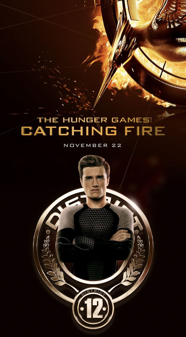 The Hunger Games: Catching Fire - Peeta Wallpaper
