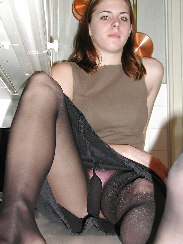 Tied claude christian pantyhose