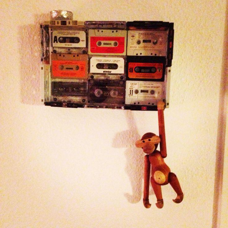 Mit design af en hylde/kasse af kassettebånd