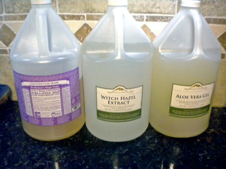 Natural Homemade Baby Wipes Ingredients1 300x225 Natural Homemade Baby Wipes Recipe   Easy and Inexpensive!