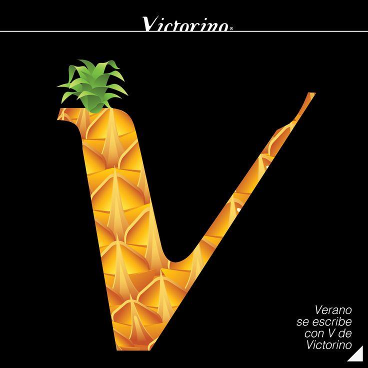 Verano se escribe con V de #VictorinoBar #Publicidad