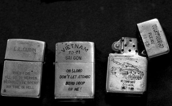 Zippo Lighters from the Vietnam War   Viet Nam   Vietnam war