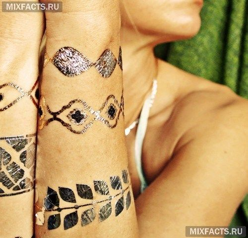 Флэш-татуировки: новый тренд (фото)
