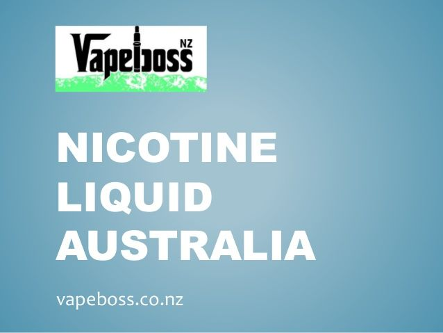 Offering the most extensive range of nicotine liquid in Australia, https://vapeboss.co.nz/ has managed to win the hearts of thousands of people over the year.