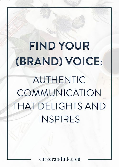 Making sure that your brand consistently stands out and is recognizable doesn't just happen – it requires focus and care. Having a clear, strong brand voice can help bloggers and creatives better connect with their audience. Click here to read how!