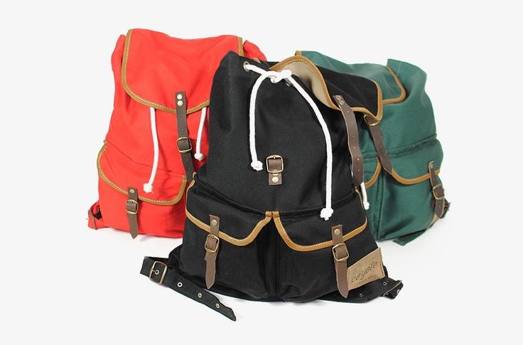 Mochila Backpack Negro by Coyote Handmade Bags | MONOQI