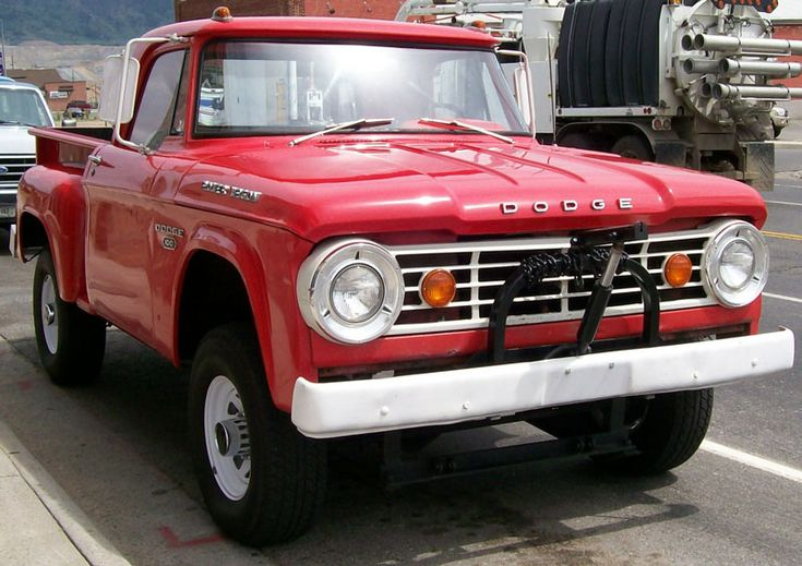classic dodge trucks | Desert Classics...1967 Dodge W100 Power Wagon 4X4 Factory Snow Plow ...