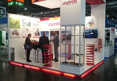 At the Valve World Expo fair in Düsseldorf in November Lesjöfors' showcase received great attention from potential customers all over the world, especially heavy springs.