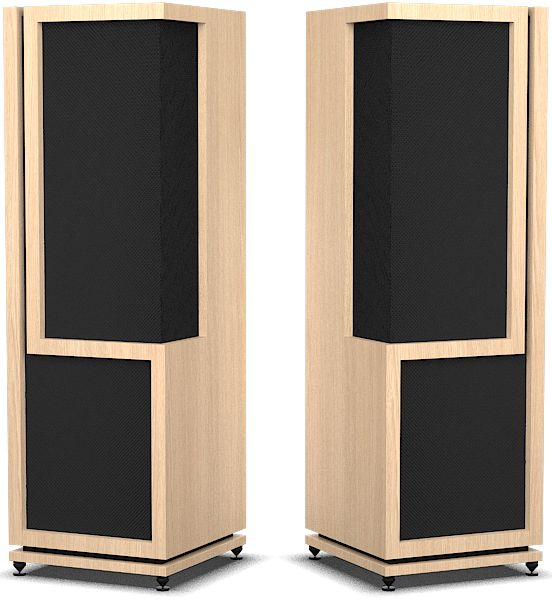 """THE REAL LIVE AUDIO  The speaker enclosure upscale """"Grace"""" was designed and engineered for demanding customers requiring both a high fidelity sound reproduction and exceptional aesthetics.  Enjoy your music; Classical, Jazz, Rock or another with high-fidelity audio system GD-Audio  Dress enclosure for seamless integration into"""