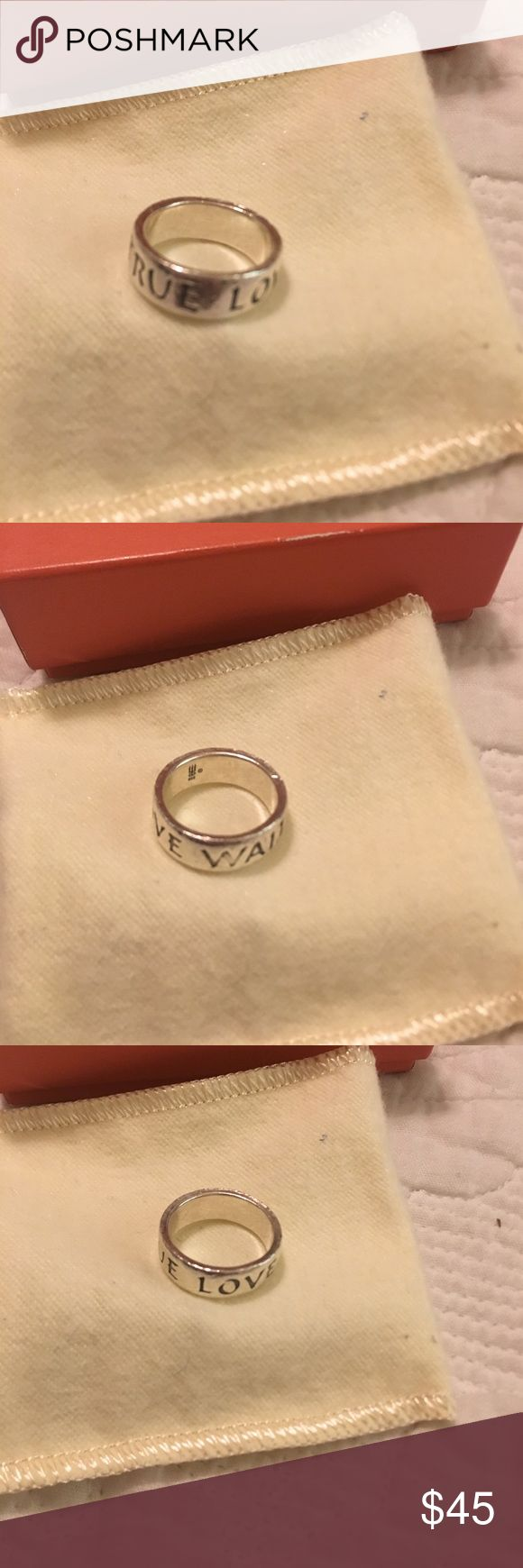 James Avery true love waits Ring Sterling silver James Avery Jewelry Rings