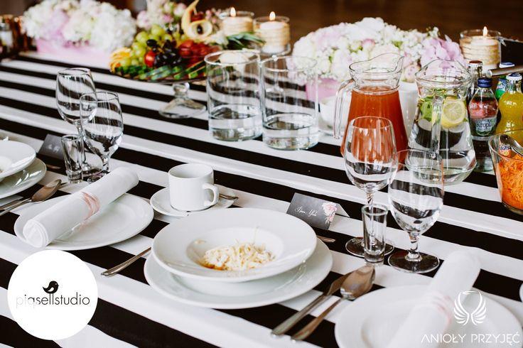 Glamour Wedding,Centerpieces,Vignettes,Tablescape / Wesele glamour,Dekoracje stołów,Winietki,Anioły Przyjęć
