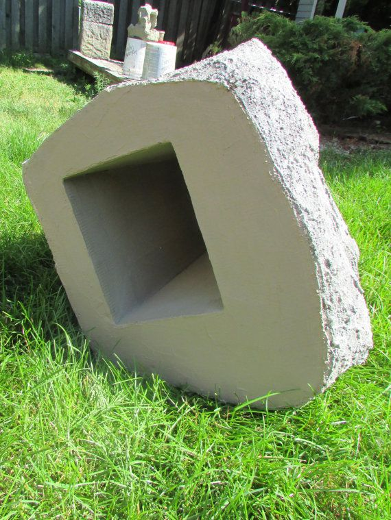 Artificial Stone Cover - decorative rock cover for your front yard, garden and backyard