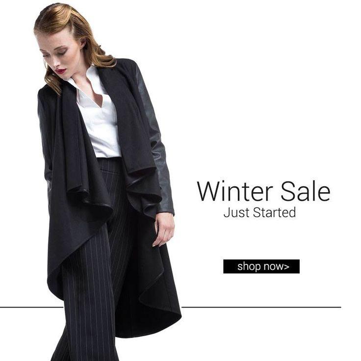 Βρείτε όλα τα αγαπημένα σας πανωφόρια με έκπτωση έως και -50%!  Παλτό ασύμμετρο > http://bit.ly/2ecFOLF #HelmiSale
