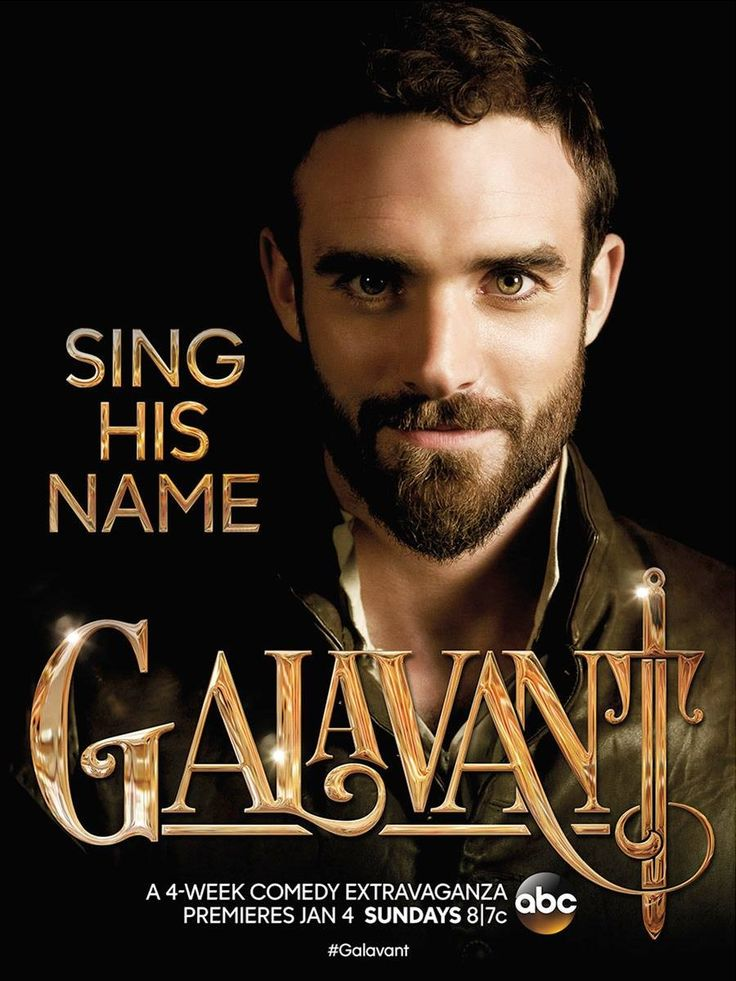 "Galavant: Four perfect Sunday nights of bliss, and now I wait for another ""season.""  This show needs to be on twice a week for 15 years."