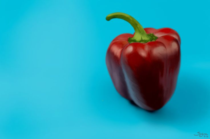 Study: Sweet Pepper by Sighne.deviantart.com on @DeviantArt