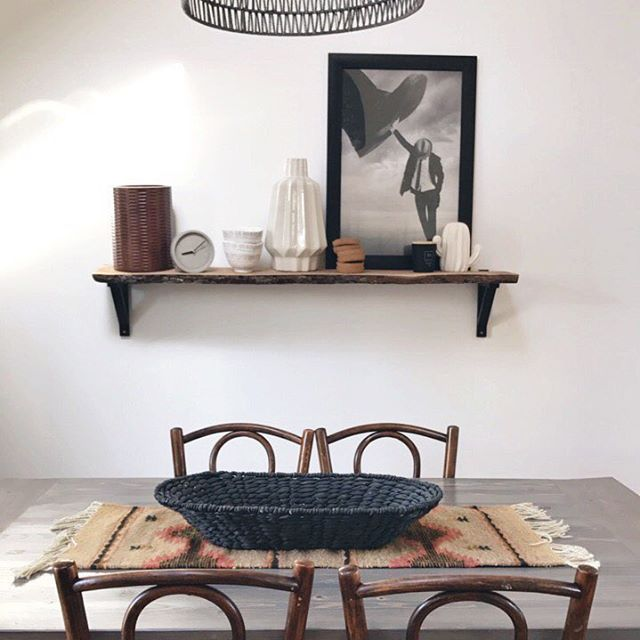 I have no idea what I'm putting in this basket yet but I am ready for all the fall things. #modernhome #home #fallhome #fall #diningroom #moderndiningroom #decor #homedecor