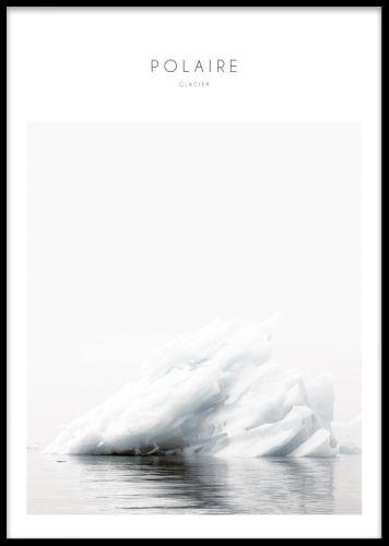 natur scener, elementer med isfjell. Plakater fotografisk kunst