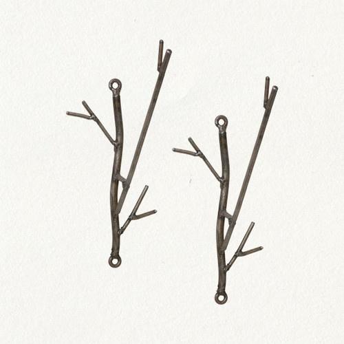 Iron Twig Hooks - eclectic - towel bars and hooks - Terrain