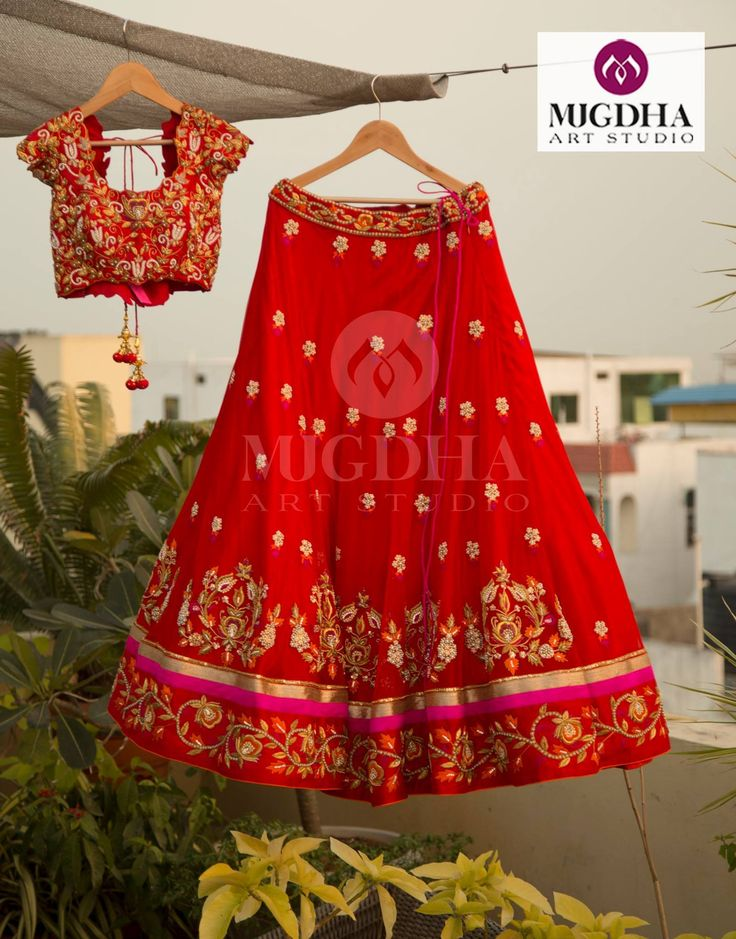 Stunning Lehenga from the house of Mugdha It is very easy and Hassle free process to Order with us.Product code - LHG-230Please reach out to+91 8142029190/ 9010906544 (whatsapp)For Call: 8899840840 (IVR)  01 February 2017