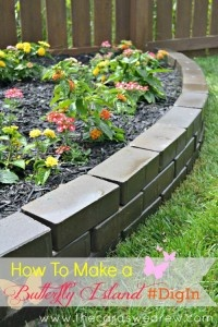 How to Build a Butterfly Island #DIY #DigIn