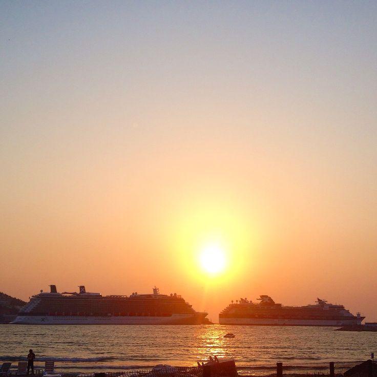 Louis Cruises Cristal, Celebrity Cruises Constellation and Celebrity Cruises Reflection visited Kusadasi today. www.bestephesustour.com happily served three tours today. Visit, enjoy and remember Ephesus with Us! Do not forget to check our website with new content. #Ephesus #turkey #travel #tour #vacation #holiday #kusadasi #bodrum #izmir #istanbul #sunset #luxury #cruise #cruiseline #cruiseship #celebritycruises #reflection #constellation #cristal #louiscruises #privatetour #shopping