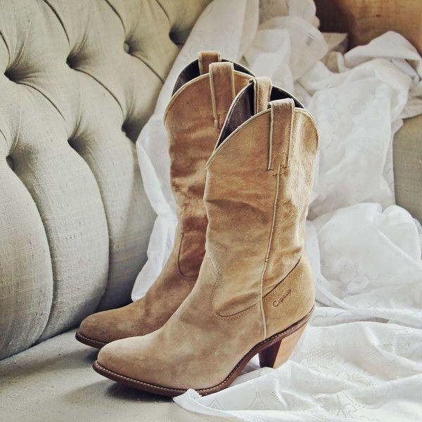 Vintage Sand Capezio Boots