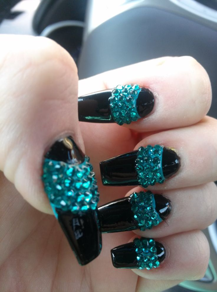 3D Nails - Upland, CA, United States. Hubby loved them thank you
