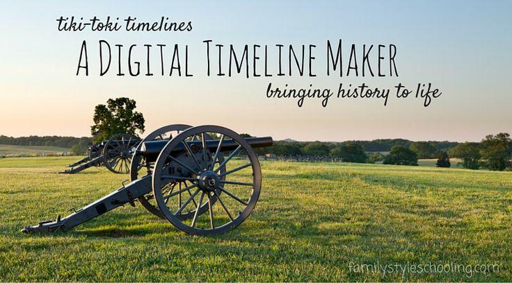 Digital Timeline Maker Tiki-toki
