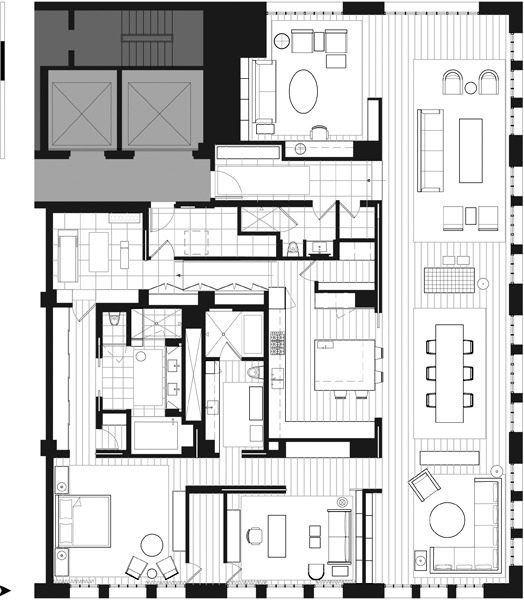372 best plans de maison images on pinterest floor plans - Maison rogers sturz michael lee architects ...
