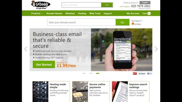 GoDaddy How to sign up to your Free Go Daddy account