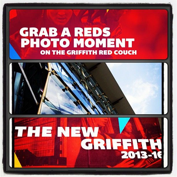 Get your photo with the Qld Reds at the game this weekend and share it with us on Instagram #newgriffith