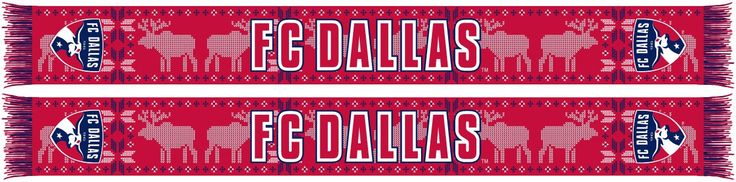 "FC DALLAS - ""Ugly"" Holiday Scarf"