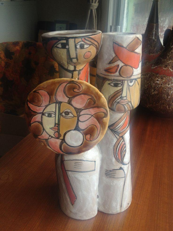 Italy Art Pottery  Mid-Century Modern  by Schiavon