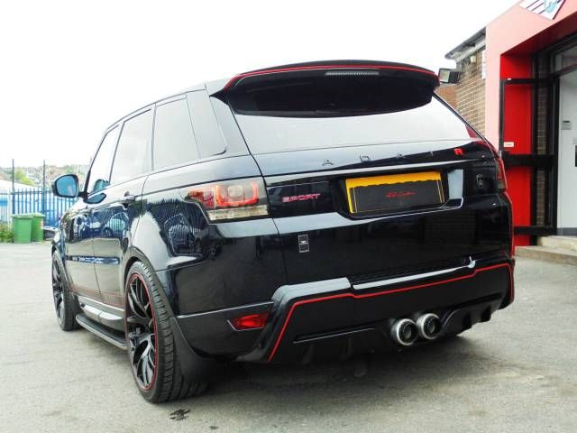 Land Rover Range Rover Sport 3.0 SDV6 TWIN-TURBO GARRET 286 ADAIR ASV RRS EDITION WITH EXTRA WITH SERVICE PACK Four Wheel Drive Diesel Black