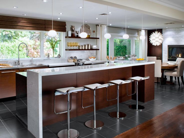 Mid Century Modern Design Ideas view in gallery decor with crisp clean lines and the patterned drapes give the room a midcentury modern Inviting Kitchen Designs By Candice Olson Mid Century Modern