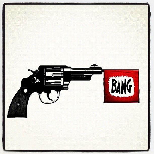 BANG: Pop Art, Guns Control,  Six-Gun,  Six-Shoot