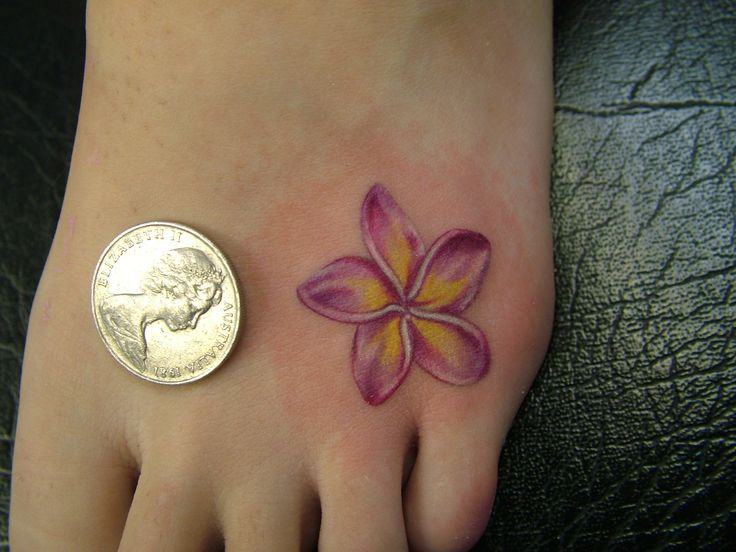 The flower I was thinking of, just not sure if I like it now that I see it on someone.